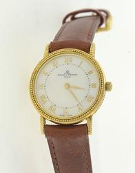 Gorgeous 18kt Baume Mercier Ladies MOP Dial Watch