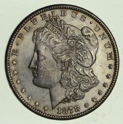 1878-S Morgan Silver Dollar - Uncirculated