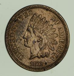 1872 Indian Head Cent - Choice