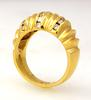 Well-Made Diamond Ring in Gold, Size 5