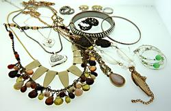 Grab Bag of Miscellaneous Costume Jewelry