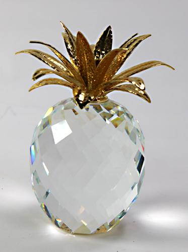 Swarovski Golden Crystal Pineapple Usauctiononline