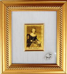 Collectible Limited Italian Gold Leaf Martha Washington