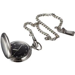Visol Lux Brushed Stainless Steel Pocket Watch