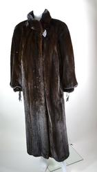 Extremely Fine Quality Mahogany Fur Mink Coat