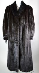 Fine Quality Full Length Ranch Mink Coat