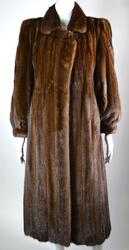 Styish Demi Buff Full Length Mink Coat