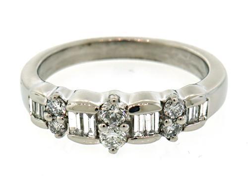Dazzling Multi Diamond Ring In Platinum