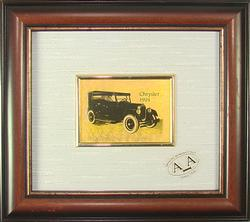 Collectible Italian Handmade CERT Gold Leaf limited Car