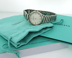 Tiffany & Co Metro Ladies Diamond Dial Watch