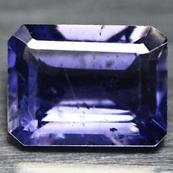 Natural 1.31ct violet blue Iolite