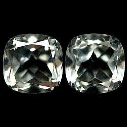 Ravishing high gem grade 4.36ct Amethyst pair