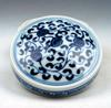 BLue and white Porcelaoin Make up Box