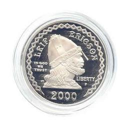 US Commemorative Dollar Proof 2000-P Leif Ericson