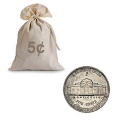 War Nickels Circulated 1000 pcs