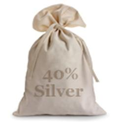 40% Silver Half Bag Kennedy Halves $500 Face 1000pcs