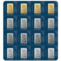 PAMP Suisse 2.5 Gram Portfolio Bar MULTIGRAM Design