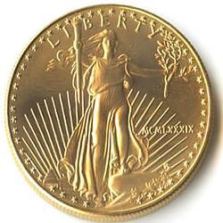 1989 American Gold Eagle 1 oz Uncirculated