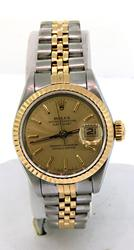 Rolex Ladies 2 Tone DateJust