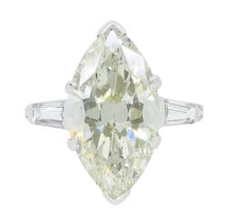 Glorious 7.70CTW Marquise Cut Diamond Ring