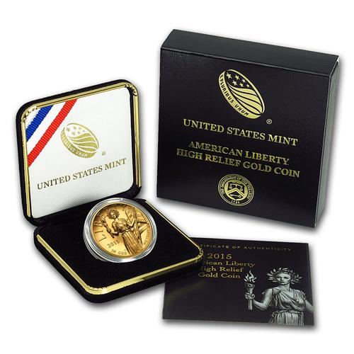 American Liberty 2015-W High Relief Gold Coin