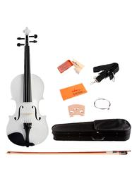 Full Size Handcrafted Solid Wood Student Acoustic Violin Starter Kit