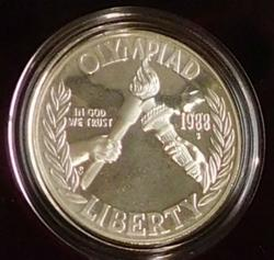 1988 PROOF Silver Olympic Dollar