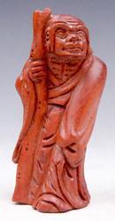 Hand Carved Japanese Buddha Sculpture