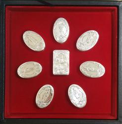 Franklin Mint Guards of Regiments Silver Box Set