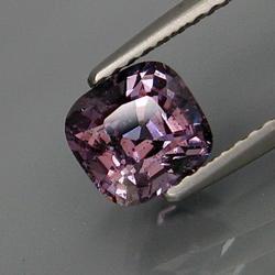 Glittering diamond luster 1.57ct violet Spinel