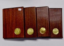 1971-74  Spotless Brown B Pr Silver Ike Dollars