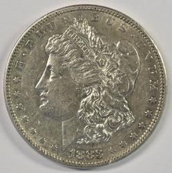 Key date 1883-S Morgan Silver Dollar in higher grade