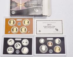 2013 Silver US  Proof Set with box