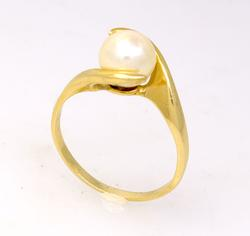 8.2mm Pearl Ring, Size 9.5