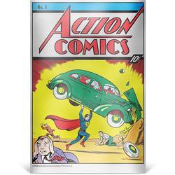2018 35 gram Silver Foil DC Action Comics #1
