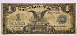 1899 Black Eagle $ 1 Silver Certificate Fr 232