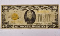 $ 20 Series 1928 Gold Certificate Fr 1187