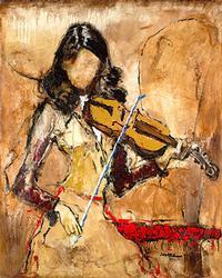 Fantastic Embellished Giclee by  Somihuz Melani