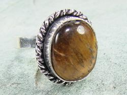 Fascinating Ethnic Handcrafted Natural Stone Ring