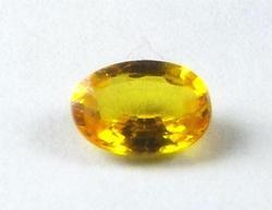 Exquisite Ceylon Yellow Sapphire Oval Gemstone 2.25 CTS