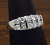14K White Gold .60CTW Diamond Ring