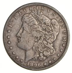 1896-S Morgan Silver Dollar - Circulated