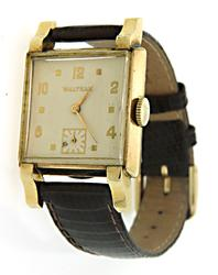 Gold Plated Waltham Vintage Watch
