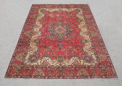 Beautiful Semi Antique Persian Tabriz 12.8x9.5