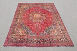 Nice Colors Semi Antique Persian Sabzevar 12.4x9.5