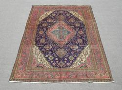 Gorgeous Semi Antique Persian Tabriz 9.7x6.9