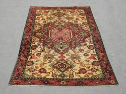 Highly Intricate Semi Antique Persian Tabriz 10.2x6.7