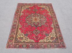 Fascinating Semi Antique Persian Tabriz 9.4x6.3
