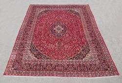 Simply Gorgeous Semi Antique Persian Kashan 12.4x9.5