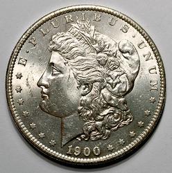 Nicer UNC 1900-S Morgan Silver Dollar